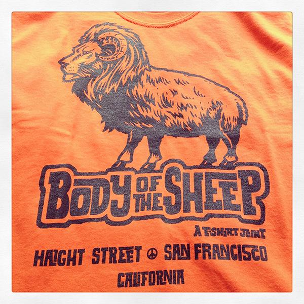 BOFS Orange t shirt