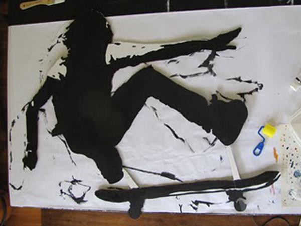 Skateboard  Board Rescue Art Show