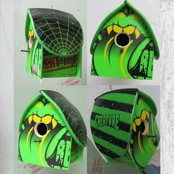 Board Rescue Birdhouse