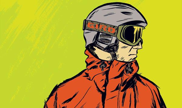 Giro Snow Mark Burrier illustrations