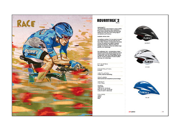 Giro Catalog Design illustration James Jean