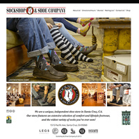 Sockshop and Shoe Website