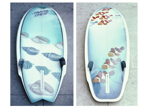 Santa Cruz Surfboard Airbrush