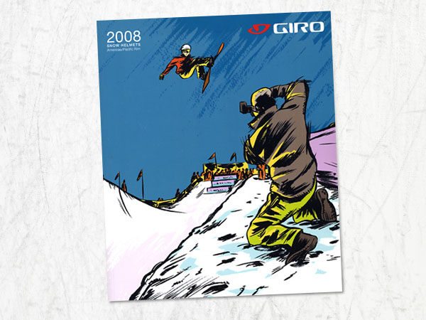 Giro Snow Catalog Cover