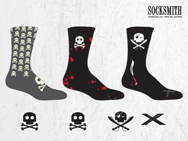 Socksmith Skulls Socks