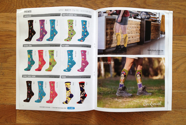 Socksmith Design Catalog Spread
