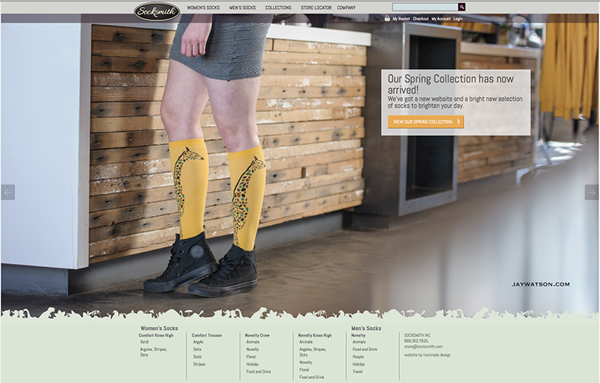 Socksmith Design Website Verve Coffee