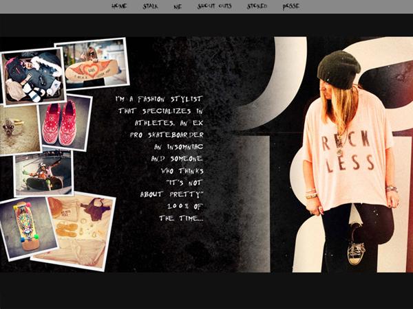 Cindy Whitehead Blog design