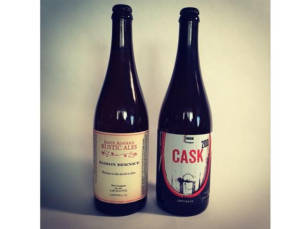 Sante Adairus beer label design