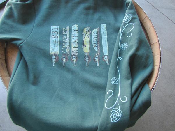 Sante Adairius Rustic Ales hoodie