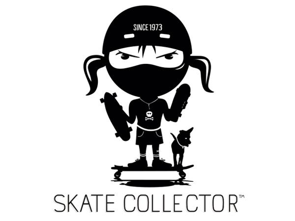 Skatecollector logo design