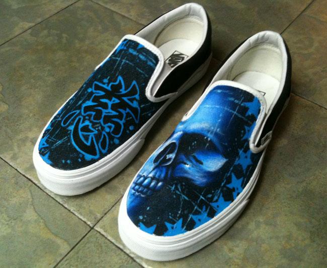 Joey Vella Custom Vans