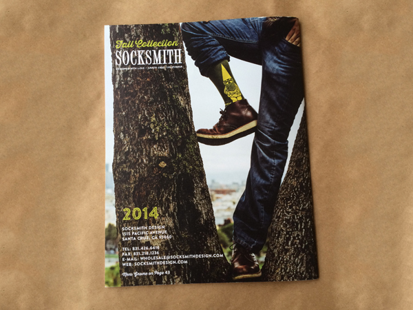 Socksmith catalog design photography Jay Watson