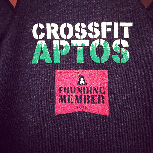 Crossfit Aptos Graphic Design logo Branding
